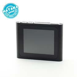 Máy nghe nhạc mp3 JS-06 màn hình LCD kẹp gắn quần áo tặng tai nghe và dây sạc