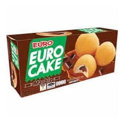 Hộp Bánh Trứng Euro Cake Hương Socola 204gr Nội Địa Thái Lan