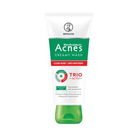 Sữa rửa mặt,trắng da, kiềm nhờn,ngăn ngừa mụn chuyên sâu 25g - Acnes Trio