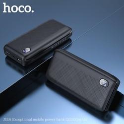 Pin dự phòng 20000 mAh 2 cổng sạc HOCO J53A nhỏ gọn sang trọng