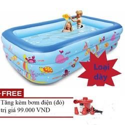 hồ bơi phao cho bé - hồ 1m8