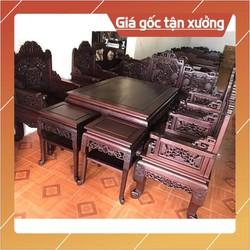 Bộ bàn ghế gỗ-trường huế ngũ lân gụ 10 món