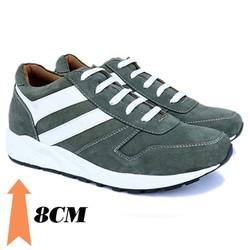 Giày tăng chiều cao nam T20, cao 8cm