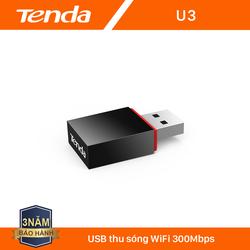 Tenda USB kết nối Wifi U3 tốc độ 300Mbps - Hãng phân phối chính thức