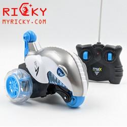 Xe nhào lộn Cá Mập điều khiển Pin Sạc + Đèn