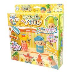 Bộ đồ chơi đất nặn bằng bột gạo Nhà tạo mẫu tóc GINCHO Nội địa Nhật Bản