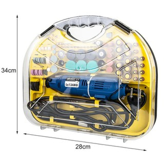 Bộ máy khoan mài khắc LX134MO đa năng với hơn 100 chi tiết. - MAYKHOAN211CT-K380 thumbnail