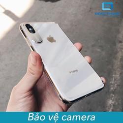 Ốp Lưng iPhone X , XS , XR , XS MAX Viền Nhôm Bảo Vệ Camera Siêu Đẹp