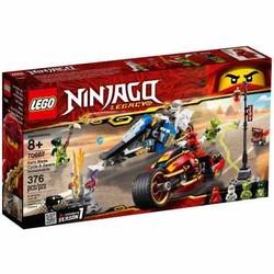 Lắp ráp xếp hình Lego Ninjago Movie 70667: Xe Của Kai và Zane
