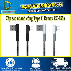 Cáp sạc USB Type C RC-155a
