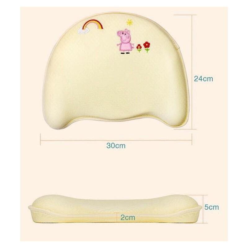[HÀNG CHÍNH HÃNG] Gối cao su non chống móp đầu cho bé – gối babymov giá rẻ