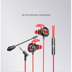 Tai nghe Gaming GM15 chuẩn Type-C/3.5 mm có Mic âm thanh chuẩn Stereo chuyên Game Mobile, PC PUBG/ROS/FreeFire - quà tặng hấp dẫn
