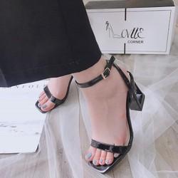 Sandal cao gót quai mảnh mẫu mới