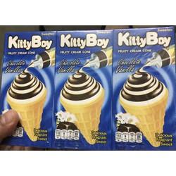 Bánh ốc quế kem KittyBoy hàng nhập khẩu Thái Lan