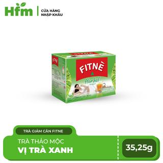 Trà Thảo Mộc Giảm Cân FITNE Thái Lan Hương Trà Xanh (2g x 15 gói) - FN-TX thumbnail