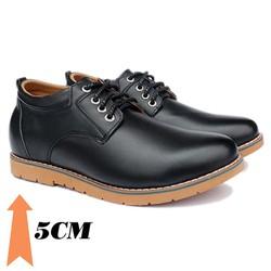 Giày tăng chiều cao nam T68, cao 5cm
