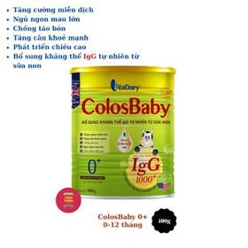 Sữa Non Vitadairy Colosbaby Gold số 0-1-2 lon 800g(date: 3.2022) - colos012