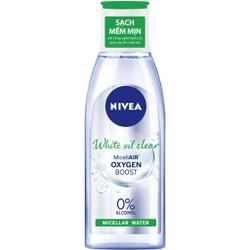 Nước tẩy trang NIVEA kiểm soát nhờn White Oil Clear Micellar Water (200ml)
