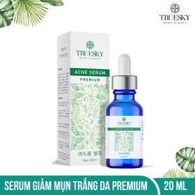 Serum trị mụn trắng da Truesky Premium chiết xuất tràm trà thiên nhiên 20ml - Acne Serum - TRUESKY_SERUM