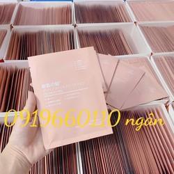 Mặt nạ tế bào gốc nhau thai Rwine Beauty Stem Cell Placenta Mask hàng chuẩn nội địa Nhật hộp 50 gói