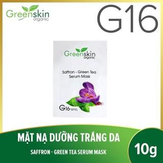 Mặt nạ dưỡng da hoa nghệ tây G16 ( set 5 miếng) - 8936185280215 thumbnail
