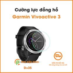 Kính cường lực đồng hồ Garmin Vivoactive 3 trong suốt full màn hình độ cứng 9H