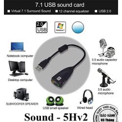 USB ra Sound 7.1 5Hv2
