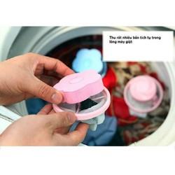5 Túi - 5 Phao lọc cặn bẩn máy giặt