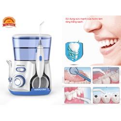 Máy tăm nước chăm sóc răng miệng hàng xịn Bản Châu Âu nhiều phụ kiện - Waterpulse Series 3