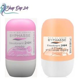 Lăn Khử Mùi Nữ Byphasse Deodorant 24h 50ml - Lăn Khử Mùi Nữ Byphasse Deodorant 24h 50ml-0
