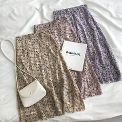 chân váy hoa