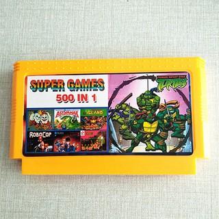 Băng game nhựa 500 in 1 Super game Contra [ĐƯỢC KIỂM HÀNG] 6796201 - 6796201 thumbnail