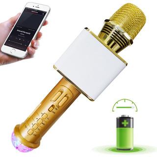 Micro Karaoke Bluetooth Sd 09L Siêu Hay Ti-ch Hơ-p Đe-n Led 7 Ma-u Bh 3 Tháng - 7635927005 thumbnail