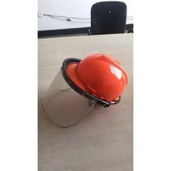MŨ BẢO HỘ - Mũ bảo hộ có kính để cắt cỏ, hàn, phòng dịch
