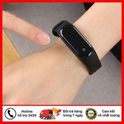 Đồng hồ thông minh M4 kết nối bluetooth đo nhịp tim huyết áp đo bước đi hỗ trợ tập thể dục thể thao