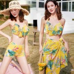 Bộ bikini đi biển rực rỡ nắng vàng cho cô nàng quyến rũ