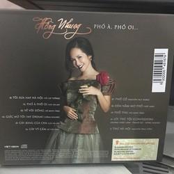 Đĩa CD Phố à phố ơi - Hồng Nhung