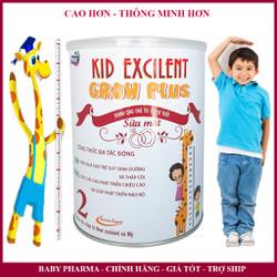 Sữa công thức tăng chiều cao cho trẻ thấp còi KID EXCILENT GRO PLUS 900G