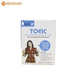 Thẻ học từ vựng thần tốc Flashcards - Blue Up TOEIC trọn bộ- 600 Essential Flashcards For Toeic