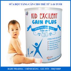 Sữa bột tăng cân cho trẻ nhẹ cân - suy dinh dưỡng KID EXCILENT GAIN PLUS 900G