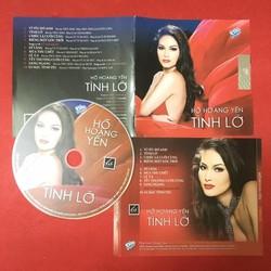 Đĩa CD Tình Lỡ Hồ Hoàng Yến