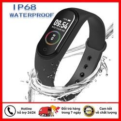 ĐỒNG HỒ THÔNG MINH THỂ THAO M4 KẾT NỐI BLUETOOTH, chống nước IP67, hỗ trợ đo nhịp tim