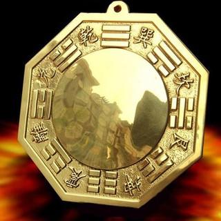 Gương Bát Quái Lồi Đồng Vàng Đúc - BQLDUC11 thumbnail