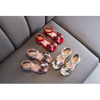 giày sandal bé gái size 26-36 nơ xinh điệu đà