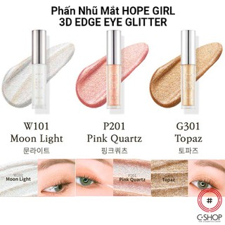 Phấn Mắt Nhũ HOPE GIRL 3D EDGE EYE GLITTER - CSHOP - CS0261 thumbnail