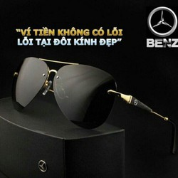 Kính mắt nam Mercedes-Benz 743 Cao Cấp