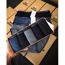 Hộp 5 quần lót nam tam giác cotton trơn