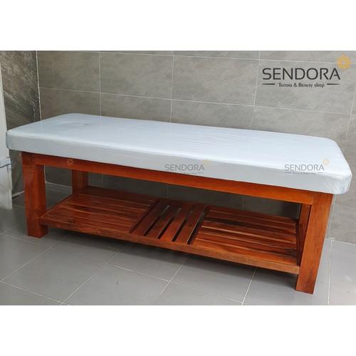 Giường gỗ spa, massage