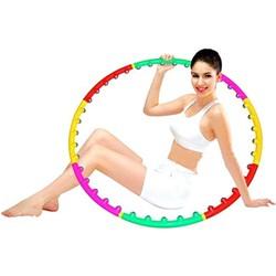 Vòng tập eo - Vòng lắc eo có hạt massage Hula Hoop