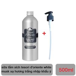 sữa tắm xích tesori d'oriente white musk xạ hương trắng 500ml chính hãng